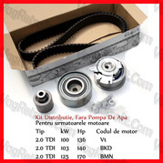 Poza - Set Curea Distributie Si Role Originale VW Golf 5 V 2.0 TDI Vt / BKD / BMN