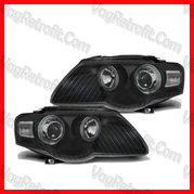 Poza - SET Faruri VW Passat B6 3C Angel Eyes Lupa DEPO