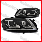 Poza - Set Faruri VW Passat B7 3C LED Lupa DayLight Depo
