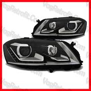 Poza - Set Faruri VW Passat B7 3C LED Lupa DayLight Depo