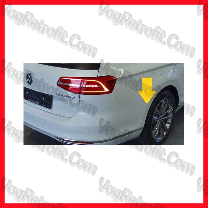 Poza 3 - SET Senzori Parcare Automata / Parcare Laterala PLA Fata Spate VW Passat B8 3G