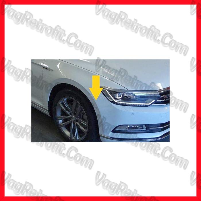 Poza 4 - SET Senzori Parcare Automata / Parcare Laterala PLA Fata Spate VW Passat B8 3G