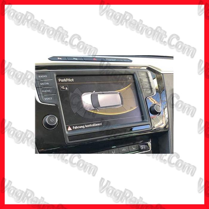 Poza 5 - SET Senzori Parcare Automata / Parcare Laterala PLA Fata Spate VW Passat B8 3G