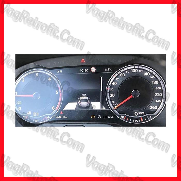 Poza 6 - SET Senzori Parcare Automata / Parcare Laterala PLA Fata Spate VW Passat B8 3G