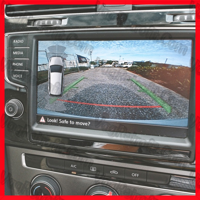 Poza 4 - SET Senzori Parcare Fata Spate VW Golf 7 VII Passat B8 3G  Skoda Octavia 3
