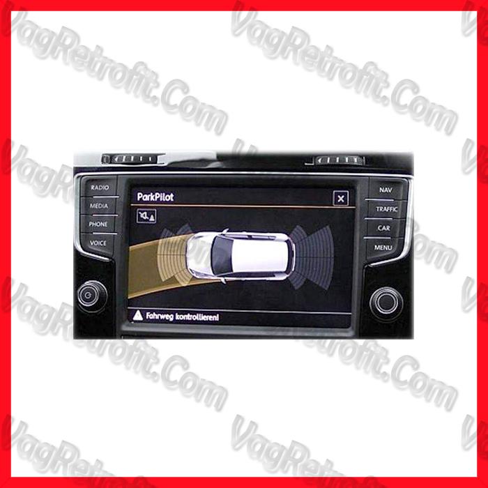 Poza 5 - SET Senzori Parcare Fata Spate VW Golf 7 VII Passat B8 3G  Skoda Octavia 3