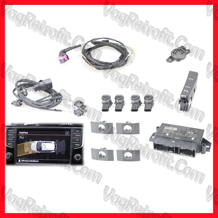 Poza - SET Senzori Parcare Fata VW Golf 7 VII Passat B8 3G  Skoda Octavia 3